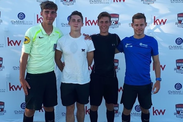 William Auray Attends Dallas Cup