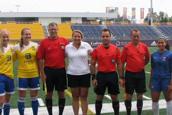 Kingston Clippers draw Capital United 2-2 on SOSA Women's Soccer Day