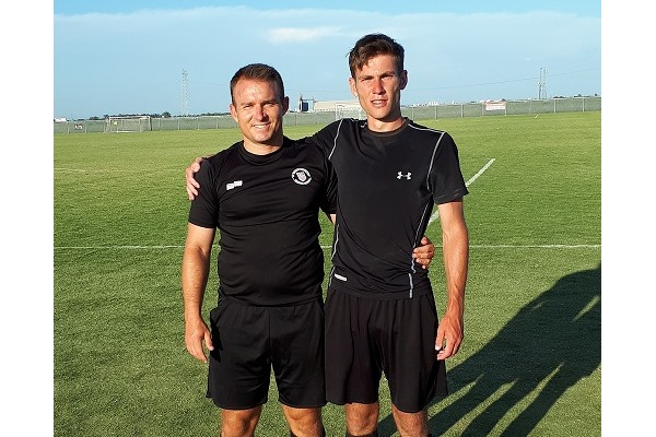 William Auray attends Dallas Cup with National Referee Vince Apple-Chiarella